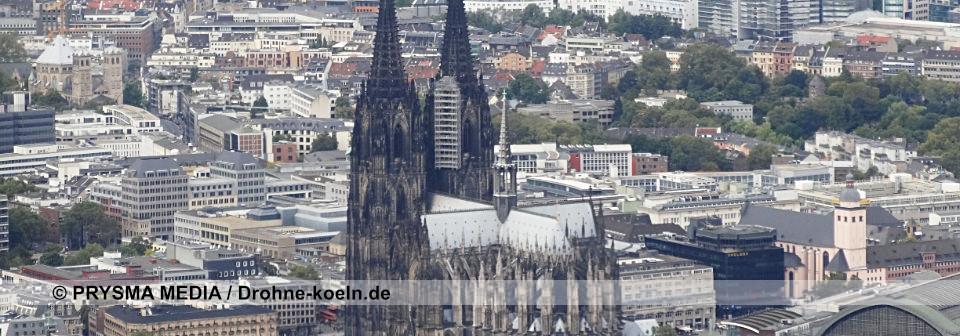 Drohne Köln Luftaufnahmen Dom